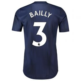 Manchester United Third Adi Zero Shirt 2018-19 with Bailly 3 printing