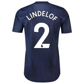 Manchester United Third Adi Zero Shirt 2018-19 with Lindelof 2 printing