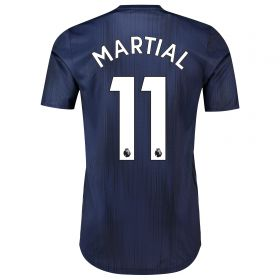 Manchester United Third Adi Zero Shirt 2018-19 with Martial 11 printing