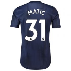 Manchester United Third Adi Zero Shirt 2018-19 with Matic 31 printing