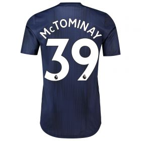 Manchester United Third Adi Zero Shirt 2018-19 with McTominay 39 printing