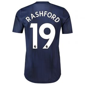 Manchester United Third Adi Zero Shirt 2018-19 with Rashford 19 printing