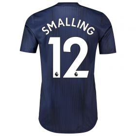 Manchester United Third Adi Zero Shirt 2018-19 with Smalling 12 printing