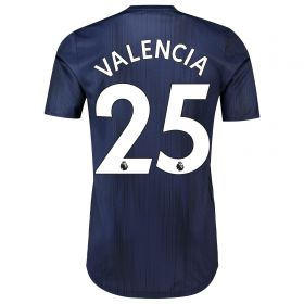 Manchester United Third Adi Zero Shirt 2018-19 with Valencia 25 printing