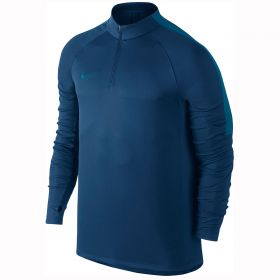 Nike Squad Drill Top - Binary Blue/Industrial Blue