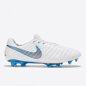 Nike Tiempo Legend 7 Elite Firm Ground Football Boot - White