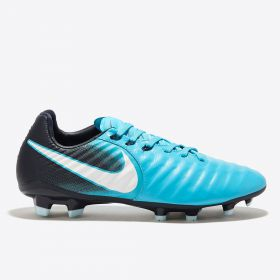Nike Tiempo Legend VII Firm Ground Football Boots - Blue - Kids