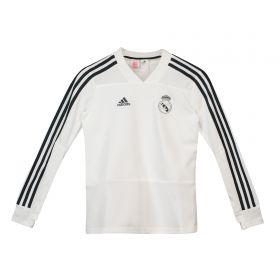 Real Madrid Training Top - White - Kids