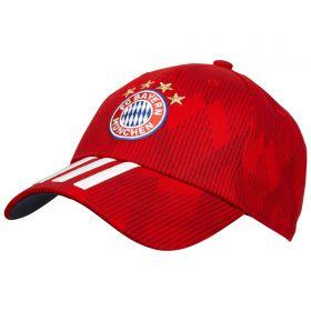 Bayern Munich 3 Stripe Cap - Red