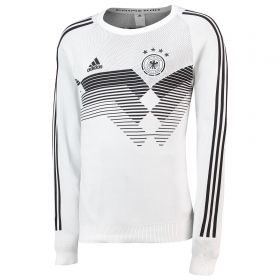Germany Knitted Home Shirt 2018 - Long Sleeve