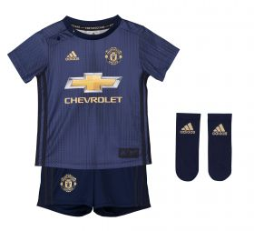Manchester United Third Baby Kit 2018-19 with Fellaini 27 printing