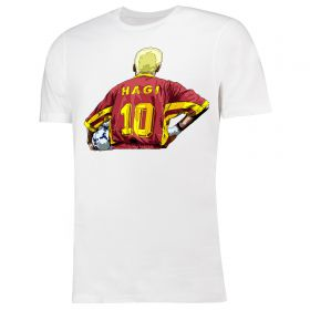 Mundial Gheorghe Hagi Blonde Regele T-Shirt -White