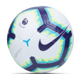 Nike Premier League Merlin Official Match Football - White