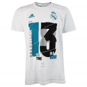 Real Madrid UCL 2018 Winners T-Shirt