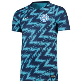 Slovakia Squad Graphic Training Top - Blue