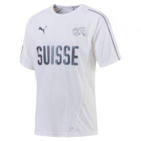 Switzerland Training Jersey - White