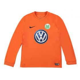 VfL Wolfsburg Goalkeeper Shirt 2017-18 - Kids