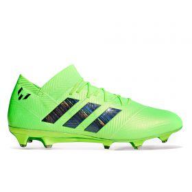 adidas Nemeziz Messi 18.1 Firm Ground Football Boots - Green