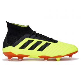 adidas Predator 18.1 Firm Ground Football Boots - Yellow