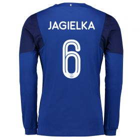 Everton Home Cup Shirt 2017/18 - Long Sleeved with Jagielka 6 printing