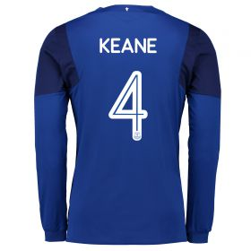 Everton Home Cup Shirt 2017/18 - Long Sleeved with Keane 4 printing