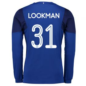 Everton Home Cup Shirt 2017/18 - Long Sleeved with Lookman 31 printing