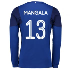 Everton Home Cup Shirt 2017/18 - Long Sleeved with Mangala 13 printing