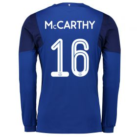 Everton Home Cup Shirt 2017/18 - Long Sleeved with McCarthy 16 printing