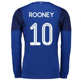 Everton Home Cup Shirt 2017/18 - Long Sleeved with Rooney 10 printing