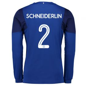 Everton Home Cup Shirt 2017/18 - Long Sleeved with Schneiderlin 2 printing