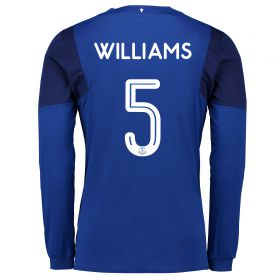 Everton Home Cup Shirt 2017/18 - Long Sleeved with Williams 5 printing