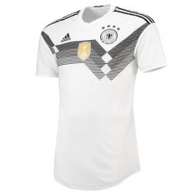 Germany Authentic Home Shirt 2018 with Gomez 23 printing