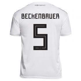 Germany Home Legends Shirt 2018 with Beckenbauer 5 printing