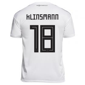 Germany Home Legends Shirt 2018 with Klinsmann 18 printing