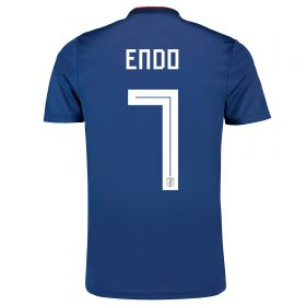 Japan Home Legends Shirt 2018 with Endo 7 printing