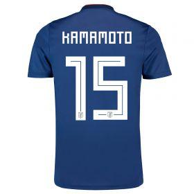 Japan Home Legends Shirt 2018 with Kamamoto 15 printing