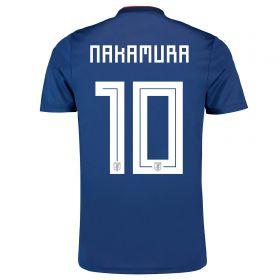 Japan Home Legends Shirt 2018 with Nakamura 10 printing