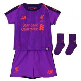 Liverpool Away Baby Kit 2018-19 with Robertson 26 printing