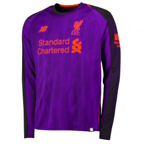 Liverpool Away Shirt 2018-19 - Long Sleeve