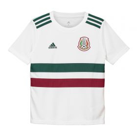 Mexico Away Shirt 2018 - Kids with Blanco 10 printing