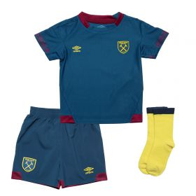 West Ham United Away Baby Kit 2018-19