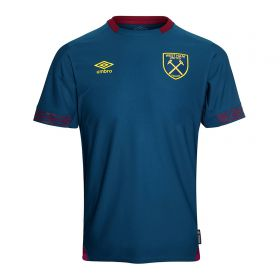 West Ham United Away Shirt 2018-19 - Kids with Carroll 9 printing