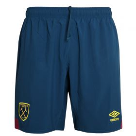 West Ham United Away Shorts 2018-19