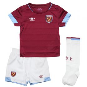 West Ham United Home Infant Kit 2018-19 with Zabaleta 5 printing