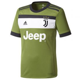 Juventus Third Shirt 2017-18 - Kids with Barzagli 15 printing
