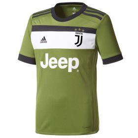 Juventus Third Shirt 2017-18 - Kids with Khedira 6 printing
