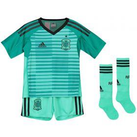Spain Home Goalkeeper Minikit 2018
