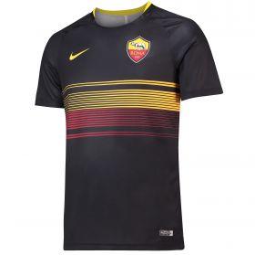 AS Roma Pre Match Top - Black