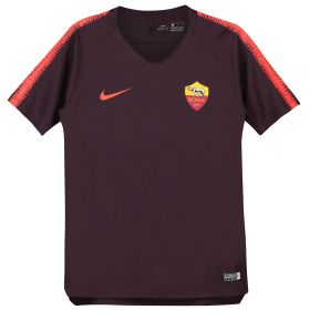 AS Roma Squad Training Top - Burgundy - Kids