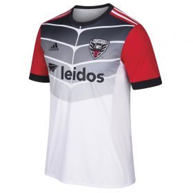 DC United Away Shirt 2018 - Kids with Ousted 1 printing